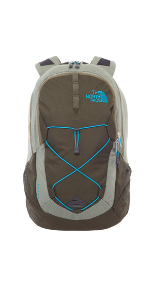 The North Face Jester Backpack forest night green/enamel blue